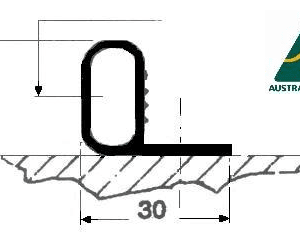 BULB SECTION (EPDM)